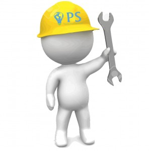 18953765-3D-Man-with-hard-hat-and-wrench-Stock-Photo